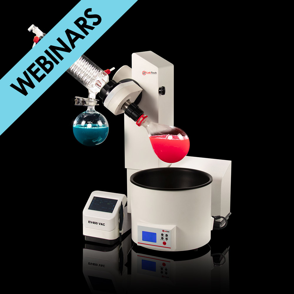 Principles, Solutions and Live demo for Rotary Evaporator line